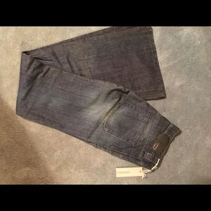 Diesel flared bottom jeans size 26 new